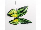 Сувенир декор для сада бабочка на палке н-130