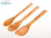 Лопатки для приготовления пищи 3 шт 30 см  DOMINA