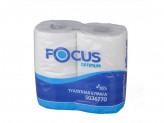 Бумага туалет 2сл focus(4рул)