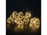 Гирлянда светодиодная, 10 ламп, 3м, 220v