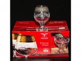 Набор 6шт бокалы для бренди барокко ge63-483