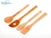 Набор лопаток 4 шт для приготовления пищи в пакете