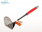 Толкушка для пюре из нержавеющей стали, пластиковая ручка, артикул АHI-AB0130