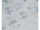 Клеенка [ЛАЗЕР] прозр.с печатью 1,2*20м мод.4105-3 0,65мм