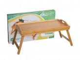 Поднос-столик 50*30*23см бамбук №2 в под/упак