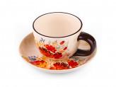 Набор чайный 2 предмета чашка блюдце РУССКИЙ СТИЛЬ BC704-S19