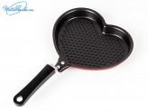 """Сковорода 17.5 см  с антипригарным покрытием """"Сердце"""""""