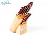 Набор ножей 6 пр с подставкой Taller Саффолк