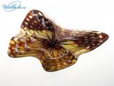 Набор салатников 3 шт стекло, в форме бабочек
