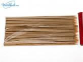 Шампур 100 шт бамбук 20 см х 3 мм 25829