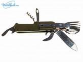 Мультитул ложка-вилка туристический 6514