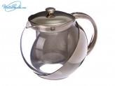 Чайник заварочный 750 мл с сеточкой, нержавеющая сталь 850G082