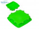Форма силиконовая 24 х 24 х 4,5 см, квадратная, 4 цвета, HS-043B, VETTA 891G017
