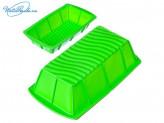 Форма силиконовая 25,5 х 13,5 х 7 см, прямоугольная, 4 цвета, HS-007B, VETTA 891G009