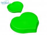 "Форма силиконовая 25,5 х 24 x 3,5 см, ""Сердце"" HS-011, 4 цвета, VETTA 891G010"