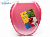 Крышка для унитаза пластик цвет МИКС 95815