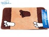 Набор 2 пр ковриков в ванную, 50х80 см  68285