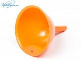 Воронка 15 см пластик мандарин  2733