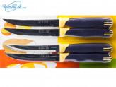 Нож кухонный 13 см с зубчиками на блистере 37967
