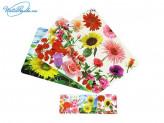 "Набор термосалфеток ""Цветы"", 8 штук, микс, 890G051"