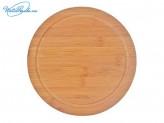 Доска разделочная d 23 см, бамбук, Bamboo VETTA, 851G122
