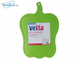 Доска разделочная фигурная 37 x 26 см, пластик, 2 цвета, VETTA, 852G031