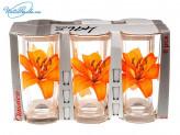Набор 6 шт стаканов Лилия   4968