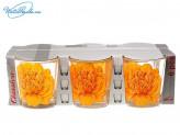 Набор 6 шт стаканов 200 мл Пион   66417