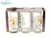 Набор 6 шт стаканов Кувшинка   68422