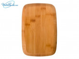 Доска разделочная 23х15х1.0 см, бамбук, VETTA