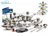 Набор посуды 19 предметов SOLIGE SG-1920