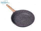 Сковорода 28см литая с антипригарным покрытием, индукция, Славяна Алмаз