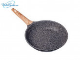 Сковорода 24см литая с антипригарным покрытием, индукция, Славяна Алмаз