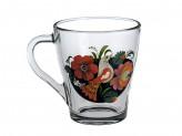 Кружка чайная Грация 250мл.  Русские Узоры 2