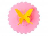 """Крышка для кружки силиконовая 10,5см """"Бабочка"""""""