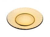 Тарелка обеденная 20,5см 'Элика' дымчатое стекло