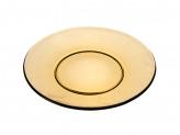 Тарелка обеденная 20,5см 'Базилико' дымчатое стекло