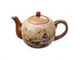 Чайник заварочный, 730мл, Винный погребок  керамика