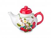 Чайник заварочный, 730мл, Цветущая вишня  керамика