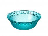 Миска средняя, 16,5x6см, Марлин  стекло, синий