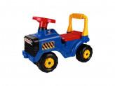 "Игрушка машинка ""Трактор"" синий"