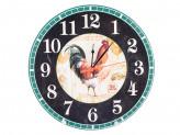 Часы круглые МДФ Петушок