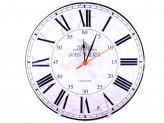 Часы круглые МДФ Римские