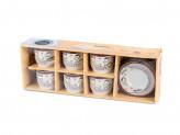 Набор  чайный из  12 предметов   в подарочной  упаковке