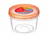 Банка 0,7 л для хранения продуктов пластиковая с завинчивающейся крышкой, ПБ441 Полимербыт, 867G048