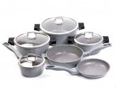 Line Набор посуды 10 предметов Granit Diamond Line