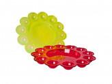 Блюдо пасхальное для яиц и кулича, пластик, 22,7x2,5см, Бриг