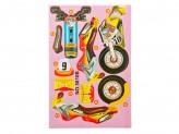 """3D Пазл """"Мотоциклы"""", картон, 14х21см, 4 дизайна"""