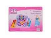 """3D Пазл """"Комната принцессы"""", картон, 29х21см, 4 дизайна"""