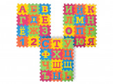 "Коврик-пазл ""Алфавит"" 36 элементов (размер элемента 8,5х8,5х1см), 33,5х25,5х2,5см"